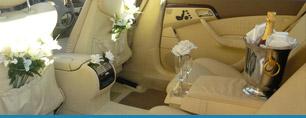 Auto di lusso per matrimonio