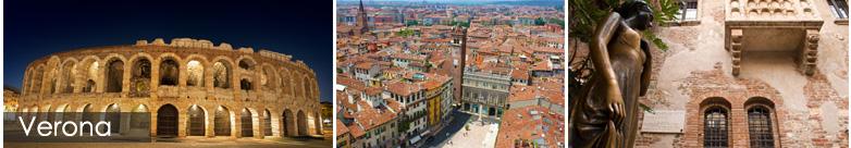 Noleggio Auto con Conducente per il Tour delle Città d'Arte Veneto – Verona