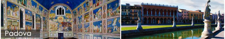 Noleggio Auto con Conducente per il Tour delle Città d'Arte Veneto - Padova